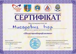Сертификаты Мисарович И.Р.